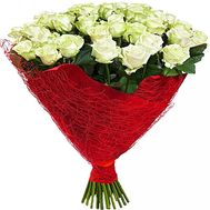 """""""43 white roses"""" in the online flower shop df.ua"""