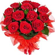13 red roses - flowers and bouquets on df.ua