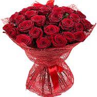 """""""Красные розы в сетке"""" в интернет-магазине цветов df.ua"""