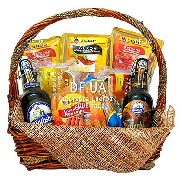"""0edccafc4490 """"Подарочная корзина с пивом для мужчины"""" в интернет-магазине цветов df.ua"""