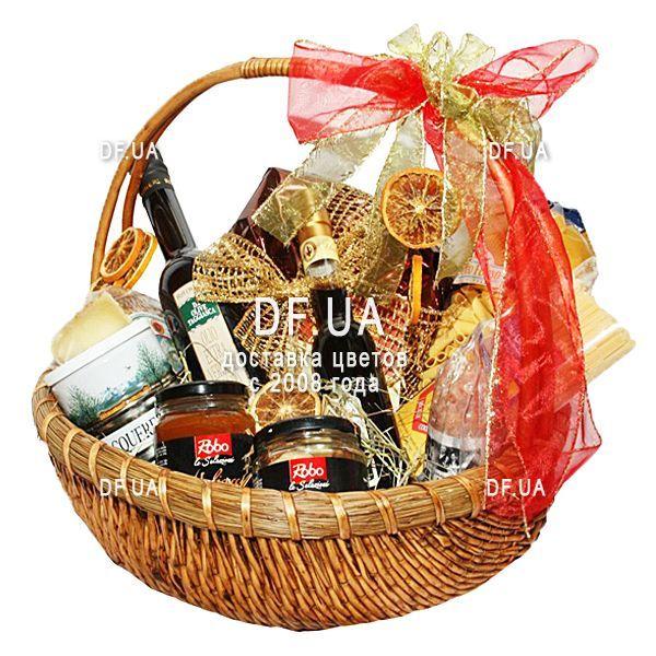 """35adf2596d9f """"Продуктовая подарочная корзина для мужчины"""" в интернет-магазине цветов  df.ua"""