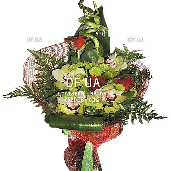 Bouquet For A Man An Anniversary In The Online Flower Shop Df