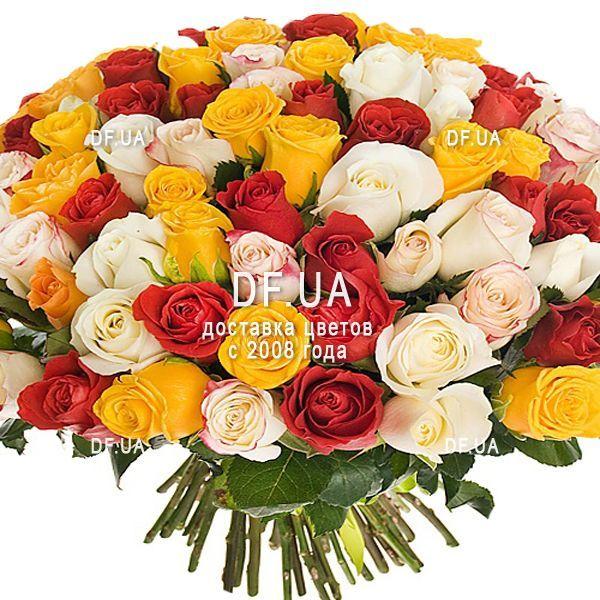 Картинки букетов шикарных роз — img 7
