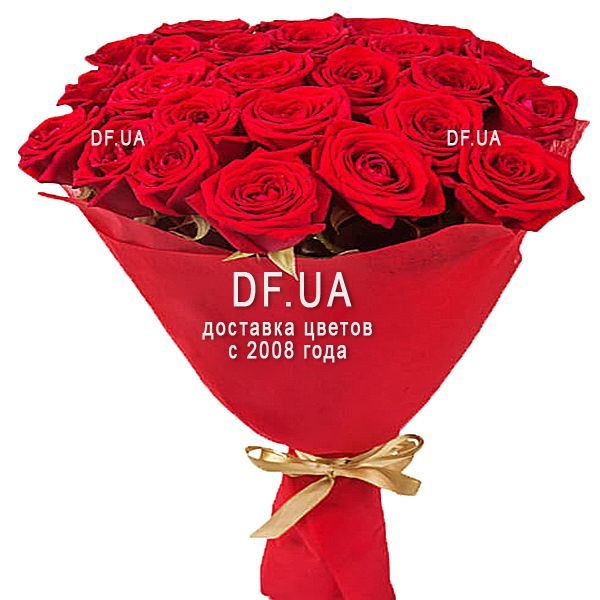 A Bouquet Of Roses With A Good Morning Df 234 Buy With Delivery In