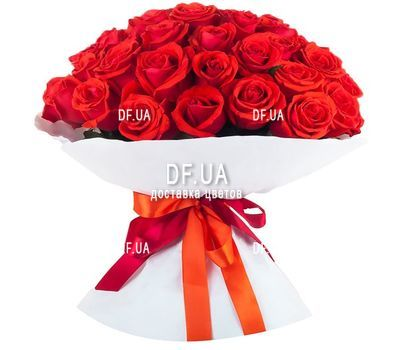 """45 red roses"" in the online flower shop df.ua"