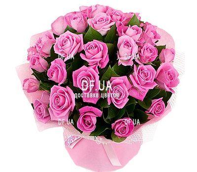 """""""29 розовых роз"""" в интернет-магазине цветов df.ua"""