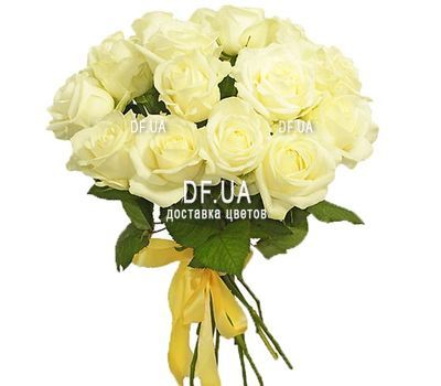 """""""15 white roses"""" in the online flower shop df.ua"""