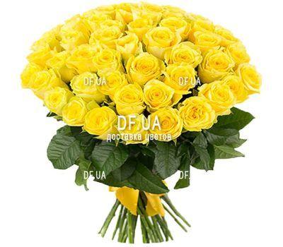 """""""41 желтая роза"""" в интернет-магазине цветов df.ua"""
