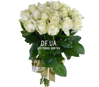 """21 white rose"" in the online flower shop df.ua"