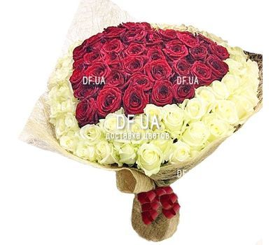 """Bouquet heart from roses"" in the online flower shop df.ua"