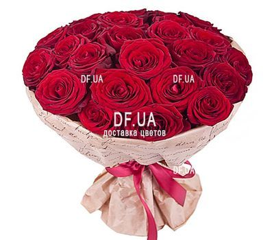 """27 red roses"" in the online flower shop df.ua"