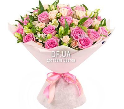 """Beautiful bouquet with a birthday"" in the online flower shop df.ua"