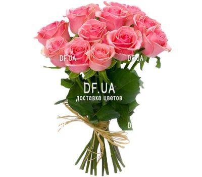 """""""11 розовых роз"""" в интернет-магазине цветов df.ua"""