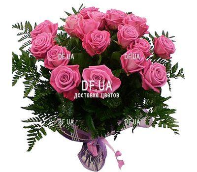 """19 pink roses"" in the online flower shop df.ua"