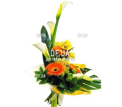 """Vertical bouquet of flowers"" in the online flower shop df.ua"