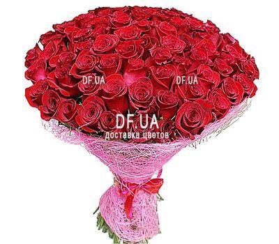 """""""101 эквадорская роза"""" в интернет-магазине цветов df.ua"""
