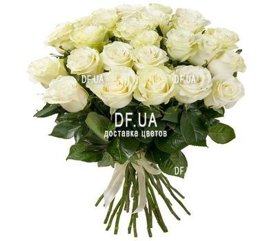 """""""White roses import"""" in the online flower shop df.ua"""