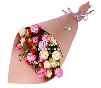 """Bouquet of mini roses"" in the online flower shop df.ua"