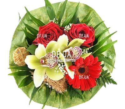 """""""Flowers for the grandmother"""" in the online flower shop df.ua"""
