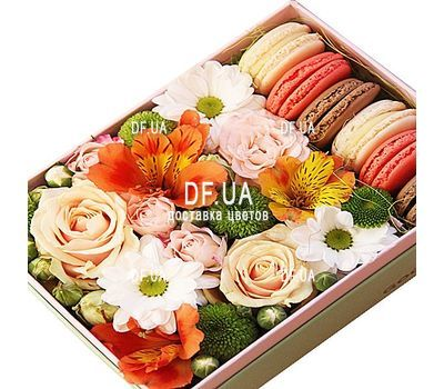 """Flowers with pasta"" in the online flower shop df.ua"