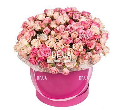 """""""Коробка кустовых роз"""" в интернет-магазине цветов df.ua"""