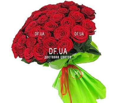 """Bouquet of 47 red roses - view 2"" in the online flower shop df.ua"
