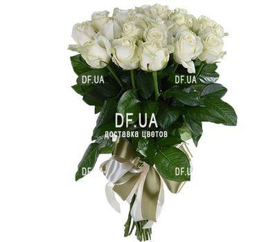 """""""21 белая роза"""" in the online flower shop df.ua"""