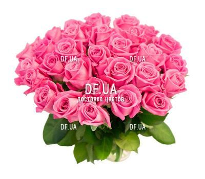 """55 розовых роз"" in the online flower shop df.ua"