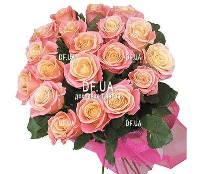 """""""19 роз мисс пигги"""" in the online flower shop df.ua"""