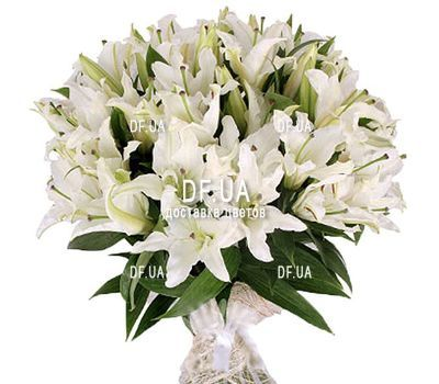 """Large bouquet of lilies"" in the online flower shop df.ua"