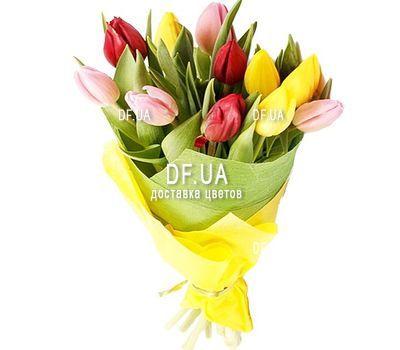 """""""Букет из 11 тюльпанов"""" в интернет-магазине цветов df.ua"""