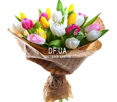 """Bouquet of tulips"" in the online flower shop df.ua"