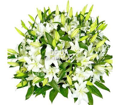 """""""Большой букет лилий"""" in the online flower shop df.ua"""
