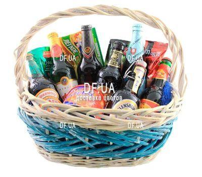 """""""Подарочная корзина для мужчины на день рождения"""" в интернет-магазине цветов df.ua"""