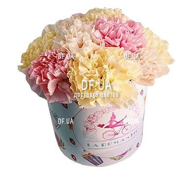 """Buy flowers in a box cheaply"" in the online flower shop df.ua"