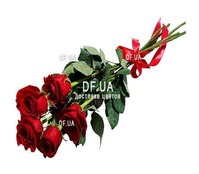 """Bouquet of 5 roses"" in the online flower shop df.ua"