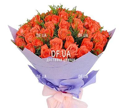 """51 roses bouquet"" in the online flower shop df.ua"