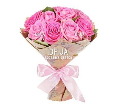 """11 pink roses"" in the online flower shop df.ua"