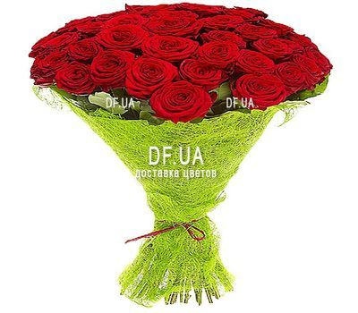 """29 red roses"" in the online flower shop df.ua"