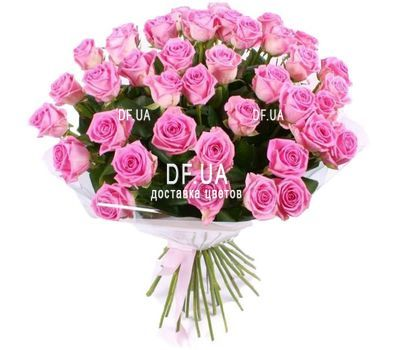 """35 pink roses"" in the online flower shop df.ua"