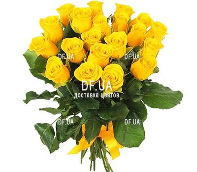 """21 yellow rose"" in the online flower shop df.ua"