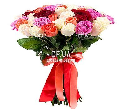 """Bouquet of 35 roses 70 cm"" in the online flower shop df.ua"