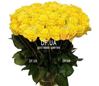 """Bouquet of 43 yellow roses"" in the online flower shop df.ua"