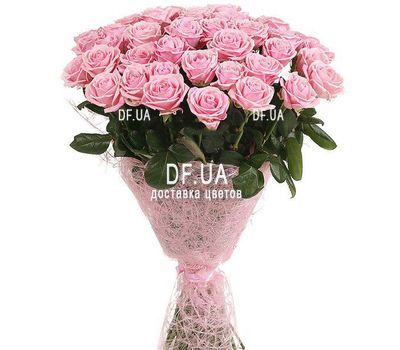 """Bouquet of 45 pink roses"" in the online flower shop df.ua"