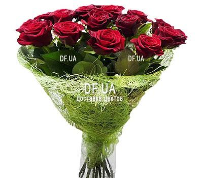 """19 red roses"" in the online flower shop df.ua"