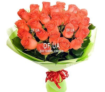 """25 orange roses"" in the online flower shop df.ua"