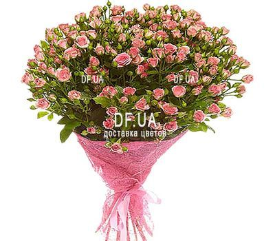 """Bouquet of small roses"" in the online flower shop df.ua"