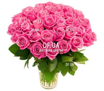 """Huge bouquet of pink roses"" in the online flower shop df.ua"