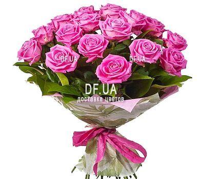 """21 pink roses"" in the online flower shop df.ua"