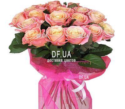"""""""19 роз мисс пигги"""" в интернет-магазине цветов df.ua"""